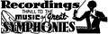 Recordings symphonies Royalty Free Stock Photo