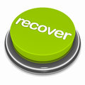 Recover button Stock Photo