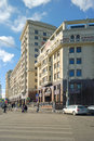 Recovered hotel russia moscow november in the center of city Stock Photo