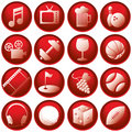 Title: Recreation Icon Buttons