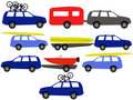Recreation vehicles Royalty Free Stock Images
