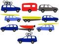 Recreation vehicles Royalty Free Stock Photo