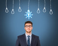Recruitment and Idea With Person Royalty Free Stock Photo