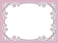 Rectangle paper frame, greeting card template