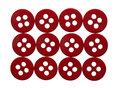 Rectangle of red buttons Royalty Free Stock Photo