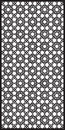 Rectangular lattice pattern background in arabic style. Arabesque.