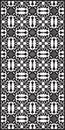 Rectangular lattice pattern background in oriental style. Arabesque.