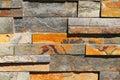 Rectangular Stone Wall Royalty Free Stock Photos