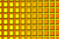 Recurrent square pattern wallpaper orange and yellow background Stock Photography