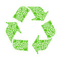 Recycle arrow Royalty Free Stock Image