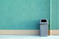 A recycle bin Royalty Free Stock Photo