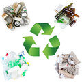 Recycle concept Stock Images