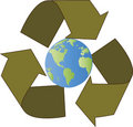 Recycle Earth Stock Photography