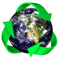 Recycle the Earth Royalty Free Stock Images