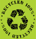 Recycle-ecological sign Stock Photography