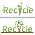 Recycle Headline Logos