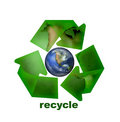 Recycle Icon Royalty Free Stock Photo