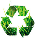 Recycle icon Stock Image