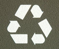 Recycle Icon Symbol Royalty Free Stock Image