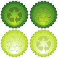 Recycle Icons Stock Photo