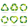 Recycle Icons Stock Image