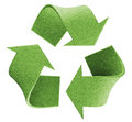 Recycle logo environmental isolated concept Stock Photography