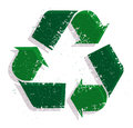 Recycle logo isolated on white background Stock Image