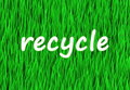 Recycle Now Royalty Free Stock Photography