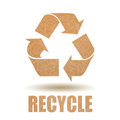 Recycle paper Royalty Free Stock Photo