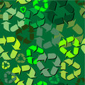 Recycle pattern Royalty Free Stock Images