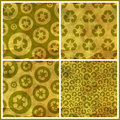 Recycle seamless pattern abstract background abstract Royalty Free Stock Photo