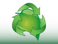 Recycle sign a vector based illustration of an Royalty Free Stock Photo