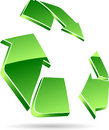 Recycle symbol. Stock Image