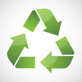 Recycle symbol arrow bio care circle clean conservation Royalty Free Stock Image