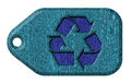 Recycle symbol. tag Royalty Free Stock Photo