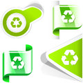 Recycle symbol usable for different design Stock Photos