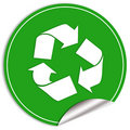 Recycled icon Stock Images