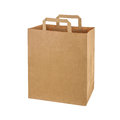 Recycled paper shopping bag Royalty Free Stock Photo