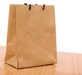Recycled shopping bag Royalty Free Stock Photo
