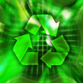 Recyclerend Symbool Stock Foto