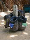 Recycling baskets Royalty Free Stock Image