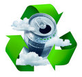 Recycling concept Royalty Free Stock Photo