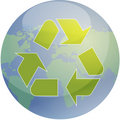 Recycling eco symbol Stock Photos