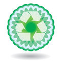 Recycling icon Stock Photos