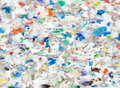Recycling plastic plate Royalty Free Stock Image