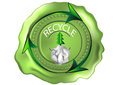 Recycling symbol Stockfoto