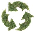 Recycling Symbol Cut Out Royalty Free Stock Image