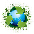 Recycling world concept Royalty Free Stock Photos