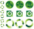Recyling Design Elements Stock Images