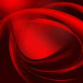 Red abstract background spiral lines on a Royalty Free Stock Photography